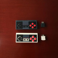 Wholesale Classic Gamepad - Newest 2017 Mini Rechargeable Game Joystick Wireless USB Plug and Play Gaming Controller Gamepad for Nintendo NS for NES Classic Edition