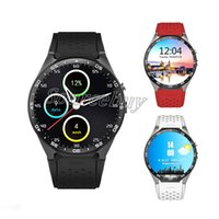 Luxo KW88 Smart Watch Android 5.1 Bluetooth GPS MTK6580 Smartwatch suporte 3G wifi Cardíaca 2MP Câmera para Android IOS Mobile Phone