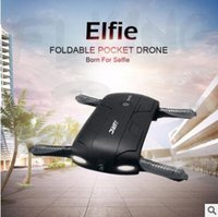 Wholesale Resin 15 G - GoolRC T37 Wifi FPV Quadcopter G-sensor Altitude Hold Foldable Mini Selfie RC Drone With HD Camera new Remote Control Line