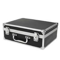 kara kutu kilitleri toptan satış-Toptan-Sodial büyük dövme seti kilit siyah araç kutusu ile taşıma çantası dışında özel çalışma taşıma çantası