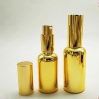 Wholesale Paints Suppliers - golden fine mist 30ml spray bottle for perfume ,50ml spray paint suppliers , 20ml gold spray bottles F2017853