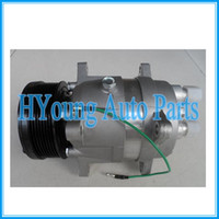 Wholesale Vw Air Conditioning Compressor - V5 car air conditioning compressor for Citroen Peugeot Seat VW 1H0820803J,6553634,015121,15124,015124