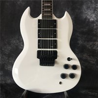 Guitarra eléctrica 2017 nueva LP g-400 sg color blanco guitarra + OEM marca yELECTRIC GUITARRA guitarra en china