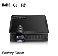 Wholesale Unique Usb - Owlenz Newest Unique 1500 Lumens SD50+ SD50 Plus Mini Portable LCD Projector HDMI   VGA Home Theater Beamer Meeting Projector