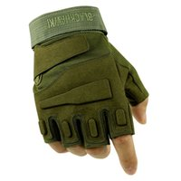 Guanti tattici Fingerless Army Gear Sport Moto M L XL