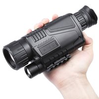 Wholesale High Magnification Monocular - 5 x 40 Infrared Digital Night Vision Telescope High Magnification with Video Output for Hunting Monocular 200M View