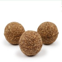 Wholesale Catnip Mice - Pet Cat Natural Catnip Treat Ball 3.5cm Favor Home Chasing Toys Healthy Safe Edible Treating Cats Articles 2 5pp J