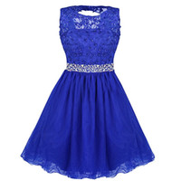 Wholesale Embroidery Mini Dress Design - Formal Prom Gown Dress Short Homecoming Dresses 2017 Pictures Backless Prom Zipper Back Design Dresses Gowns Special Occasion Dresses