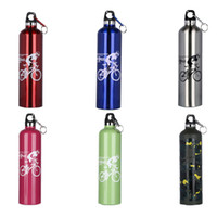 Wholesale Cheapest Stainless Steel Bottles - Cheapest!!! Sport Water Bottles Stainless Steel Insulated Outdoor Climbing Cycling Camping Water Kettles with hook 500ML free shipping