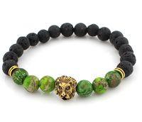 Wholesale Porcelain Buddha - 2017 Natural Stone Bracelet Elastic Tiger Eye Stone Buddha Bangles for women and men Jewelry bracelet tibetan Beaded bracelet