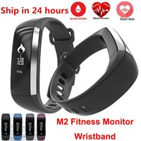 oxygen blue - Waterproof M2 Band Blood Pressure Oxygen Monitor Bluetooth Wristband Pedometer Fitness Activity Tracker Smart Bracelet For Android IOS