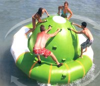 Wholesale Inflatable Store - Store)water gyro water park aquatic parks Rotate the Saturn customizable water toys inflatable PVC toys LLFA