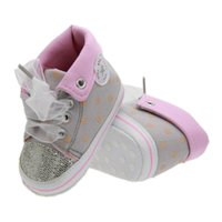 Wholesale luxury fashion brand baby shoes baby girl shoes casual and comfortable baby toddler shoes bebe US size top quality hs000