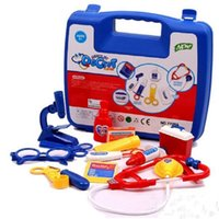 Wholesale Kids Medical Set - Wholesale- Kids' Medical Toy Kit Set Doctor Pretend Play House Classic Educational Gift For Children PL076