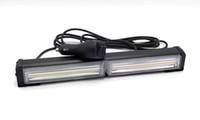 acele ışık baraları strobe toptan satış-COB LED Strobe Flaş Uyarı Araba Işık Bar Kontrol Anahtarı 14 Modu Styling İtfaiyeci Polis Trafik Acil Çalışma Lambası