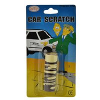 Wholesale Funny Gag Gifts Christmas - Wholesale-1 PC Novelty Funny Gags Trick Toy Trick Fake Car Scratch Funny April Fool Joke Toy Halloween Christmas Gifts for Kids Children
