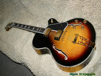 Wholesale Honey Burst Jazz Guitar - New Arrival Vintage Honey Burst Hollow Jazz Guitar Abalone Binding Wholesale From China