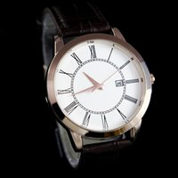 Wholesale Top Swiss Sport Watches - Top Brand Luxury Mens Watches Swiss Design Leather Sport Date Fashion Sport Quartz WristWatch High Quality Relogios Masculinos Drop Ship