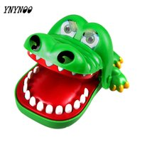 Wholesale Mouth Gags For Sale - YNYNOO Hot Sale Large Crocodile Mouth Dentist Bite Finger Game Funny Toy Novetly Gags Joking Toys For Kids Gift OT007