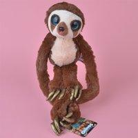 Wholesale Toy Animal Image - 25cm Wholesale Brand New Soft Stuffed Animals Belt Monkey Plush Toy, Cartoon Image Baby Kids Doll Gift Free Shipping