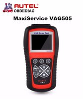 Wholesale Reading Trouble Codes - Autel MaxiService VAG505 Handheld Device VAG 505 Code Reads and erases Diagnostic Trouble Codes OBD2 Diagnostic Tool
