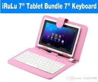US / UK / China Stock! Q88 7-дюймовый Android Tablet PC 8GB Allwinner A33 Двойная камера WIFI iRULU Kids Tablet Bundle 7