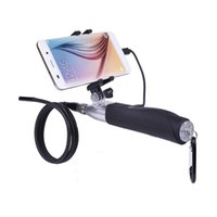 De poche 1m Dur Tube Android Endoscope Lentille 6LED Étanche Dur Câble Endoscope Caméra D'inspection Endoscope Câble