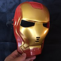 Wholesale Holloween Props - Marvel Superhero The Avengers Costume Mask For Party Mardi Gras Costume Prop Christmas Holloween Ball One Size Suitable For Most Express