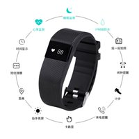 Wholesale Oled Display Bracelet - fitbit charge TW64S TW64 Fitbit flex smartband Charge HR Activity Wristband Wireless Heart Rate monitor OLED Display smart bracelet better