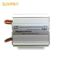 Wholesale Free Output Transformer - Wholesale- Authentic SUVPR 10a 24 v to 12 v 120W car power step-down transformer converter aluminum alloy material free shipping