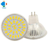 Wholesale Energy Saving Lamp Cup - 50x MR16 led spotlight glass cup 110v 220v led bulbs light smd 5733 35leds high quality led energy saving home lamps warm white