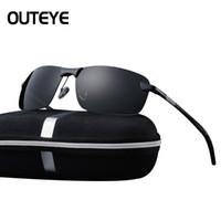 Wholesale Drivers Glasses - Men's Glasses Car Drivers Night Vision Goggles Anti-Glare Polarizer Sun glasses Polarized Driving Sunglasses Without Box