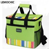 Wholesale Super Canvas Bag Pack - Wholesale- High quality Summer super hot bag picnic box lunch bags portable hot temperature preservation stylish pack bags stylish Cooler