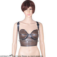 1a52657453 Wholesale latex bras for sale - Transparent Black Sexy Latex Bra Fetish  Rubber Bras Lingerie brassieres