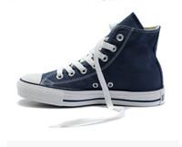 ingrosso sneakers adulti-2016 trasporto di goccia nuovo unisex low-top high-top per adulti scarpe da uomo da uomo 13 colori allacciati scarpe casual scarpe da tennis scarpa