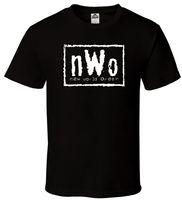 Wholesale Hulk T Shirts - NWo - Black T-Shirt New World Order N.W.o Hulk Razor Nash WCW Sizes S-2XL Different Colours High Quality T Shirt