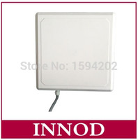 Wholesale Rfid Rs232 - Wholesale- 1-10meters ip67 waterproof middle long range integrated uhf circular antenna passive rfid reader with TTL Uart RS232 Wiegand26