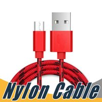Wholesale More Usb - High Speed Micro USB Charging Cable Nylon Braided USB Charger for Android Samsung Nexus HTC Motorola Nokia HUAWEI and More