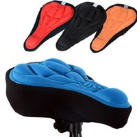Wholesale Bike Seat Bicycle Saddle Bicycle Parts Cycling Seat Mat Comfortable Cushion Soft Seat Cover For Bike New