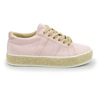 Wholesale Ladies Canvas Shoes Wholesale - LH005 new fashion solid color leisure shoes women loafers lady straw soled flat lace-up shoes