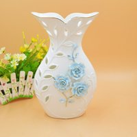 Wholesale New Decorating For Home - Ceramics Home Furnishing Decoration Pendulum Decorate Vase Goods Of Furniture For Display Rather Than For Use Technology Gift Move To A Bett