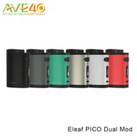 Wholesale Pico Phone - Eleaf iStick Pico Dual Mod 200w Max Out Put fit Melo III Mini Tank Take RC Adapter work as Power Bank for your phone