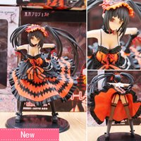 Wholesale Stand Action Toy - Anime Date a live Tokisaki Kurumi Nightmare Standing Ver PVC Action Figure Collectible Model doll toy 21cm