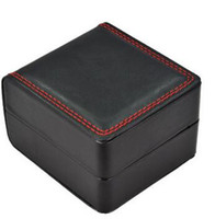 Wholesale High End Jewelry Gift Boxes - Luxury High End Leather Watch Boxes Display Case Gift Box For Jewelry Storage Holder Leather Watch Case with Pillow