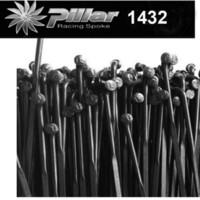 Wholesale Straight Pull Spokes - Pillar PSR Aero 1432 Stainless Steel Spokes J-hook spoke or straight pull spoke