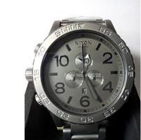 Wholesale Digital Matte Box - New Men's 51-30 Quartz Watch THE A083-1062 CHRONO Matte Black Dial Stainless Steel Band CHRONOGRAPH Original Box A0831062