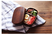 Wholesale Wooden Lunch Box - Wholesale custom lunch box box wooden lunch box Japanese foreign trade export lunch boxes environmental protection food boxes