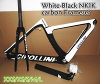 Wholesale Carbon Road Bike Frameset Sale - Factory sale T1000 3K 1K BB30 BB68 Road bike carbon frameset Cipollini NK1K carbon road frames with XXS-XS-S-M-L free shipping