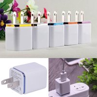 Wholesale Dock For Sale - Hot Sale Home travel 2 port Wall Charger dual usb port Power travel Adapter EU US Plug Charging general