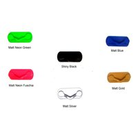 Wholesale Eyewear Displays - Wholesale- HOT magnetic eyewear safety display holder stand eyeglasses & pen lanyard holders 6neon-colors solid or mixed new free shipping